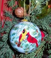 Songbird Essentials Ornament, Fire in the Snow