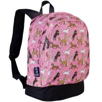 Olive Kids Horses in Pink Sidekick Backpack