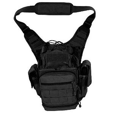 NcStar PVC First Responder Bag, Black