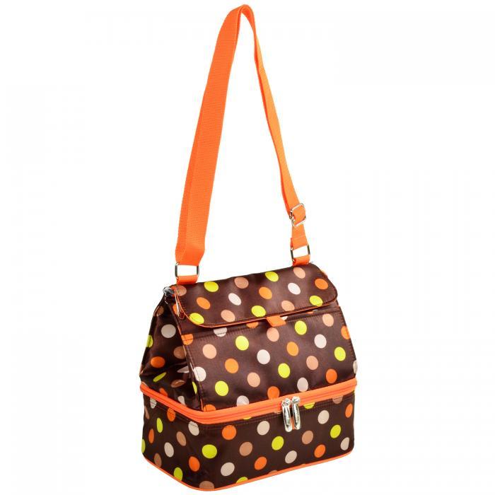 Picnic At Ascot Fashion Insulated Lunch Bag Julia Dot