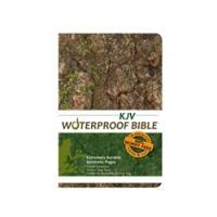 Bardin & Marsee KJV Waterproof Bible - Camouflage