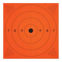 Champion Traps & Targets Adhesive Target 13X13 Orange 10Pk