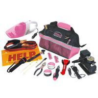 Apollo 54 Piece Roadside Tool Kit- Pink