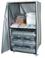 Blantex XH-3 - 2 Level Bed Cart with 10 XH-3-IV Special Needs Beds
