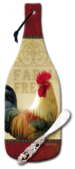 Counter Art Farm Fresh Cheese Server- Farm Fresh