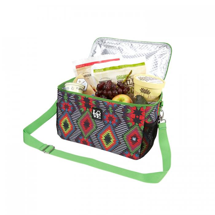 Love Bags Lucy Diamonds Chill Set, 3 in 1 Cooler/Tote Set