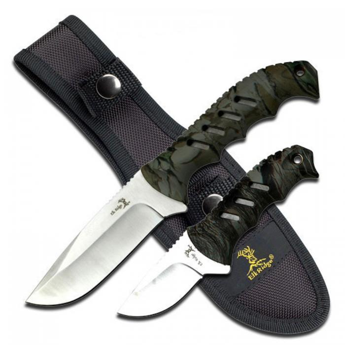 Elk Ridge ER-532CA Fixed Blade Knife Set