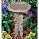 Butterfly Pedestal Only- Copper Verdi