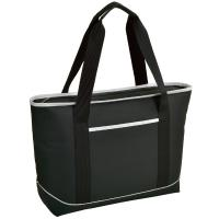 Picnic at Ascot  Large Insulated Cooler Bag - 24 Can Tote - Black