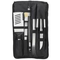 Picnic at Ascot 9-Piece Stainless Barbecue Set in Carry Case