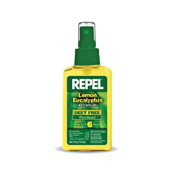 Repel Lemon Eucalyptus Insect Repellent, 4 Oz
