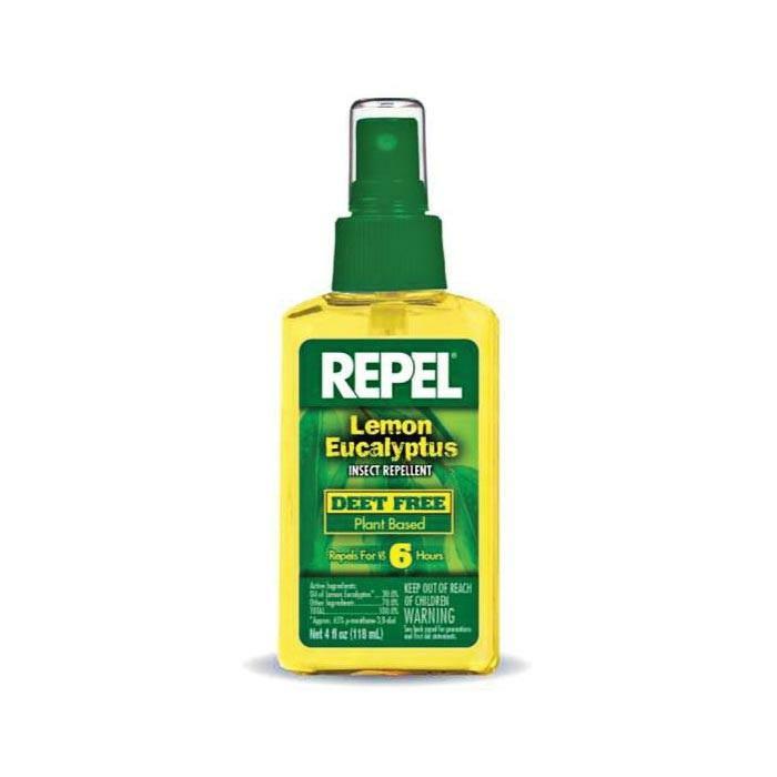Repel Lemon Eucalyptus Insect Repellent, 4 Oz