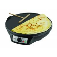 Kalorik Black 2-in-1 Crepe and Pancake Maker