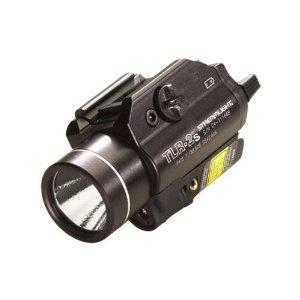 Streamlight TLR-2S C4 LED Light with Strobe Function, Black Aluminum Body, and Laser