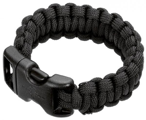 """Wilson Tactical Survival Bracelet, Black, 8"""""""
