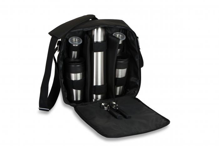 Picnic Plus Magellan Coffee Set, Black