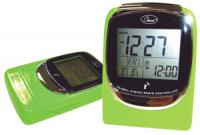 "Chass ""Global Sync"" Atomic Clock - Green"