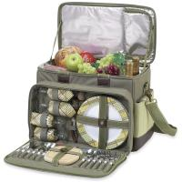 Picnic at Ascot Hamptons Picnic Cooler for Four