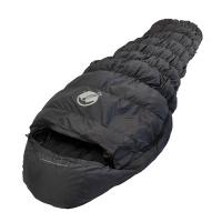Klymit KSB 20 Synthetic Sleeping Bag, Charcoal Gray, Regular