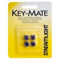 Streamlight 4 Pack Replacement Batteries for Key-Mate