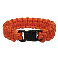 "Survival Bracelet 8"", Orange"