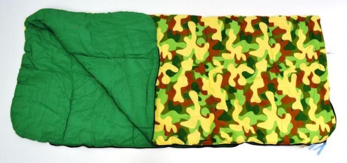 Bazoongi Kids Big Kids Slumber Bag - Camo Boy Green