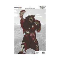 Champion Traps & Targets Zombie Visicolor Bulk Pk-Crtn Kodiak Bear