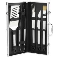 Picnic at Ascot Silver Barbecue Primary Tool Set, 5 Piece