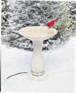 Heated Bird Baths by Bird's Choice