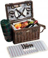 Picnic & Beyond Brio Collection - (A) 2 Person Willow Picnic Basket