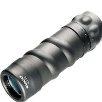 Bushnell 10x25mm Black Roof Prism Monocular, Compact, Clam