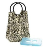 Fit & Fresh Lunch Bag  Damask With Ice Pack