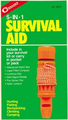 Coghlans 5 in 1 Survival Aid