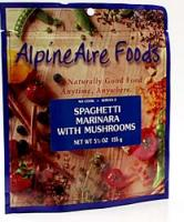 Alpine Aire Spaghetti Marinara with Mushrooms