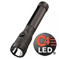 Streamlight PolyStinger C4 LED Rechargeable Flashlight, 120V Piggyback Holder
