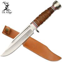 Master Cutlery Dagger w/Leather Wrapped Handle