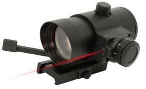 NcStar 1x40 Red Dot w/Laser QR Mount