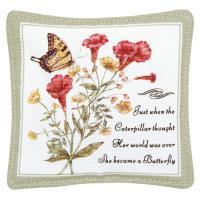 Alice's Cottage Yellow Swallowtail Single Mug Mat