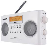 Sangean PRD5 Digital Portable Stereo Receiver with AM/FM Radio
