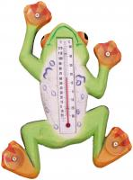Songbird Essentials Climbing Tree Frog Large Window Thermometer