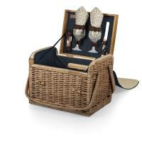 Picnic Time Kabrio Wine Basket - Dahlia