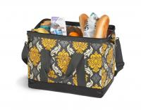 Spacious Thermal Foil Lined Doctor's Bag Shape Cooler by Picnic Plus, Provence Flair