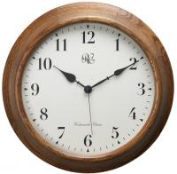 15 Inch Wood Wall Clock with Four Different Chiming Options