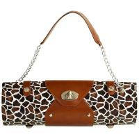 Picnic at Ascot Wine Purse-Giraffe