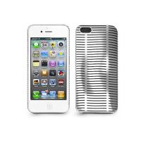 Iluv Topog Mesh Softshell Case Protection For iPhone 5 - White