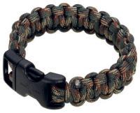 "Boker 9"" Survival Bracelet Woodland Camo"