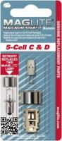 MagLite 5 Cell Xenon Replacement Bulbs