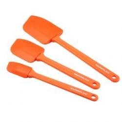 Rachael Ray 3-Piece Spatula Set - (Orange)