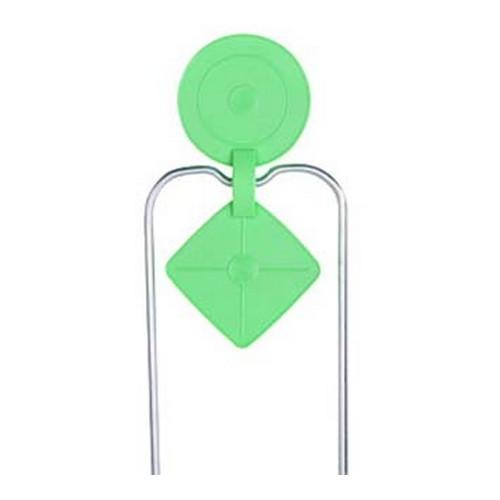 Champion Traps & Targets Double Gong Radiation Green Spinner