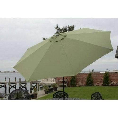 Bliss Hammock 9' Market Umbrella, Sage Green